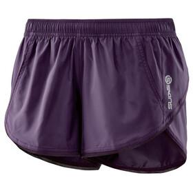 Skins Plus System Run - Pantalones cortos running Mujer - violeta